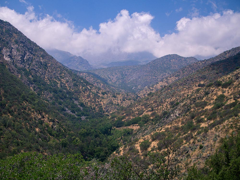 Meaning 'pre mountain range', precordillera are the hills below the tree line, laying before the higher mountains.