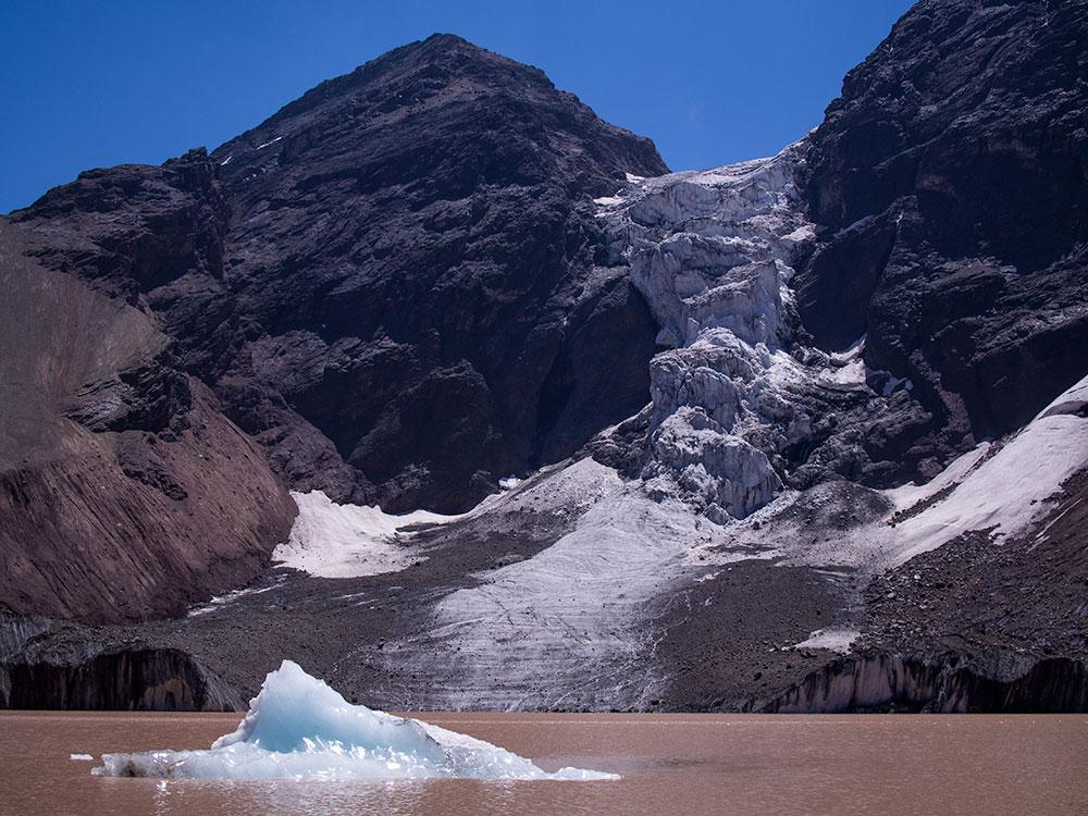 Morado Hanging Glacier