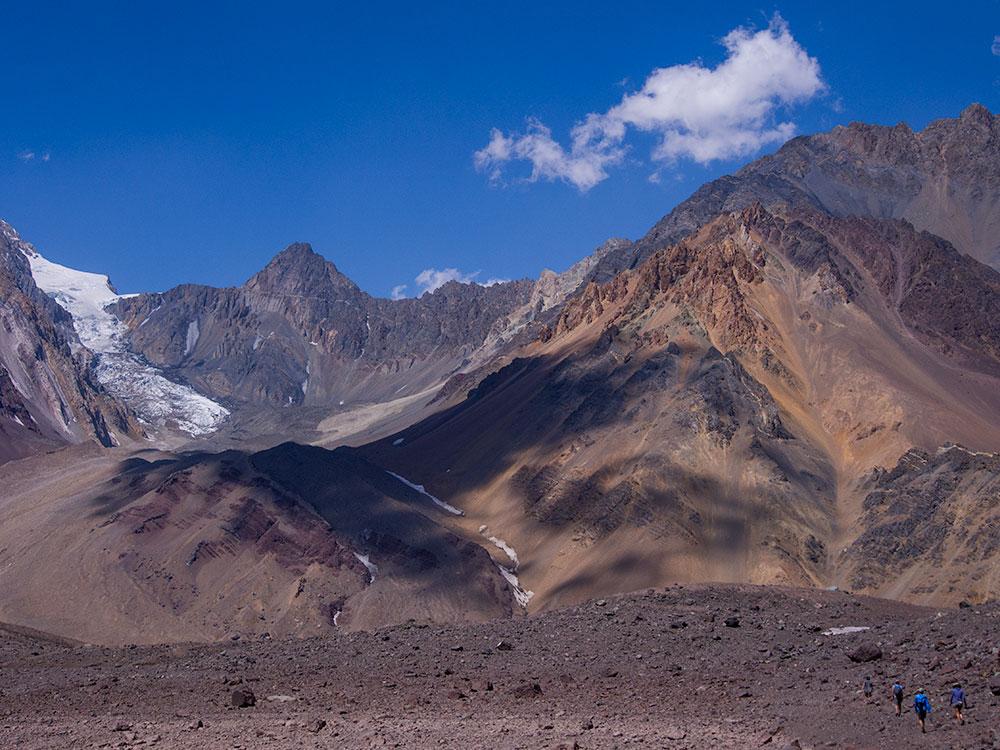 Andean Hike, Las Arenas Valley, Cajón del Maipo, Chile.