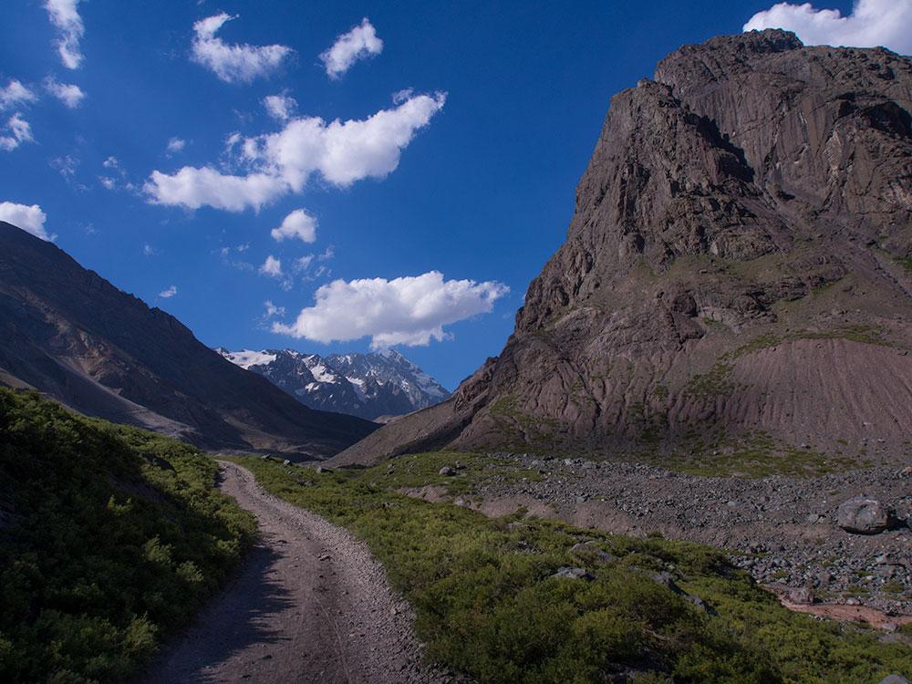 Las Arenas Valley, Cajón del Maipo, Chile. - Trekking in Santiago