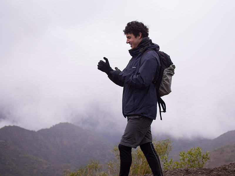 Mauro Pesce, designer and photographer Coigüe Expeditions