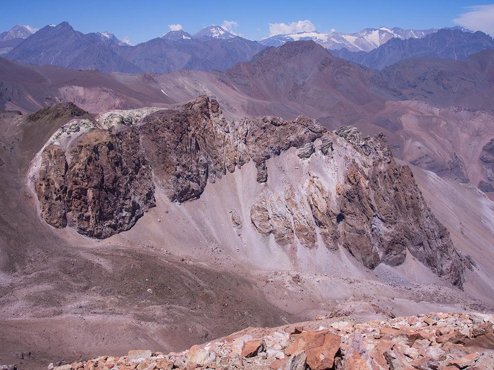 El Pintor ascent - Santiago de Chile outdoors