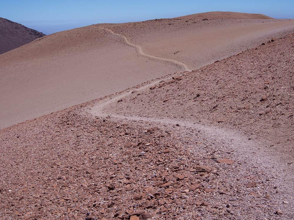 Path from La Parva to El Pintor