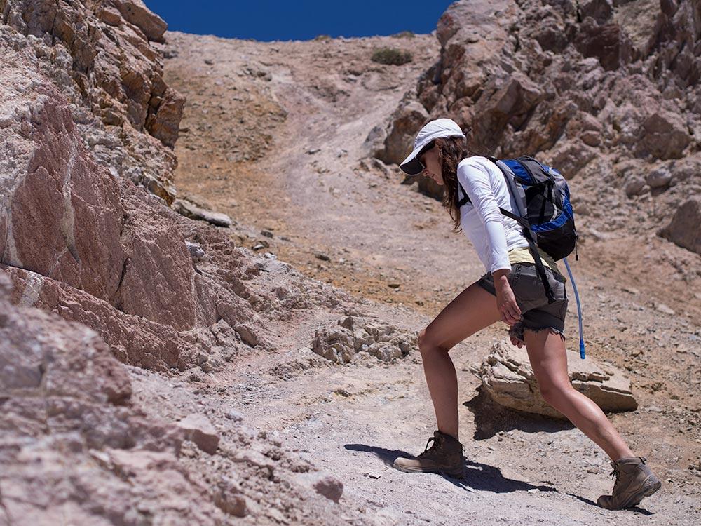 La Falsa Parva mountain - Trekking in Chile