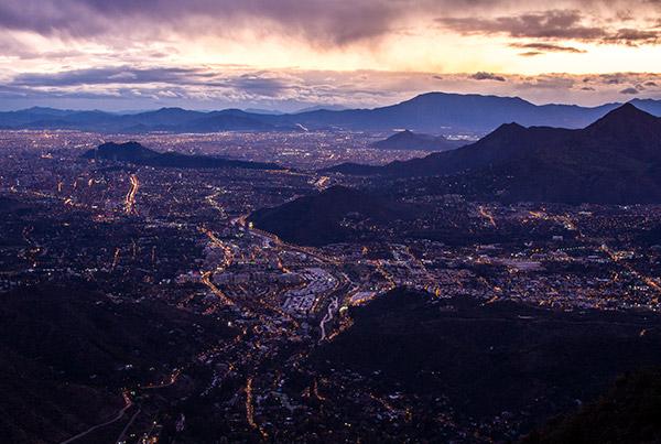 Climate Santiago Chile