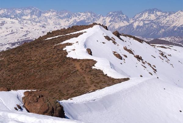 Top of Provincia mountain - Santiago outdoors