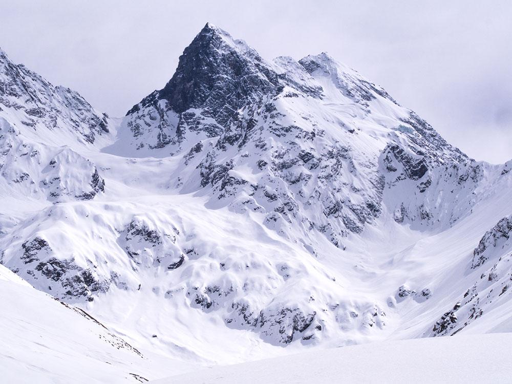 Mount El Morado, Chilean Andes.