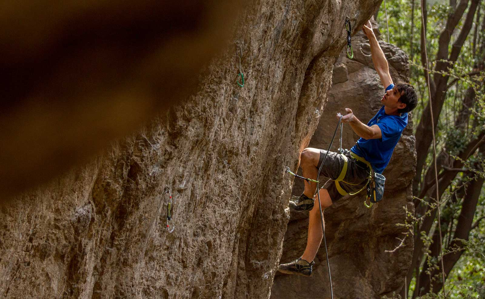 Just a normal day of climbing… with Alex Honnold!