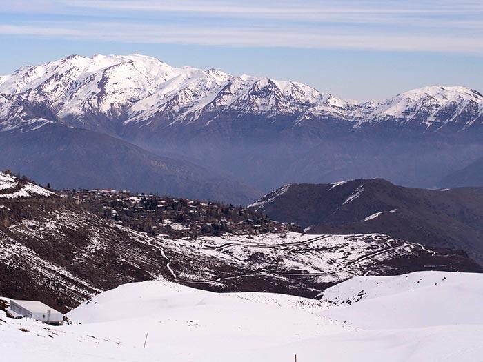 View from La Parva