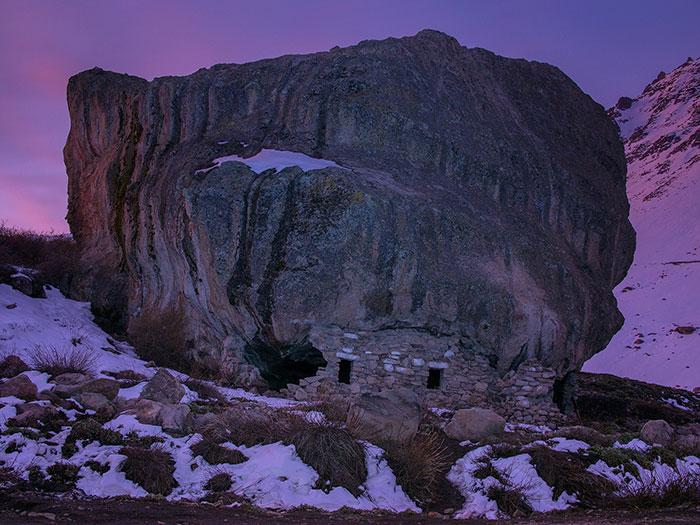 Between Farellones and Valle Nevado