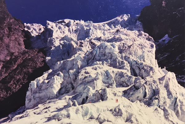 El Morado Hanging Glacier 1995