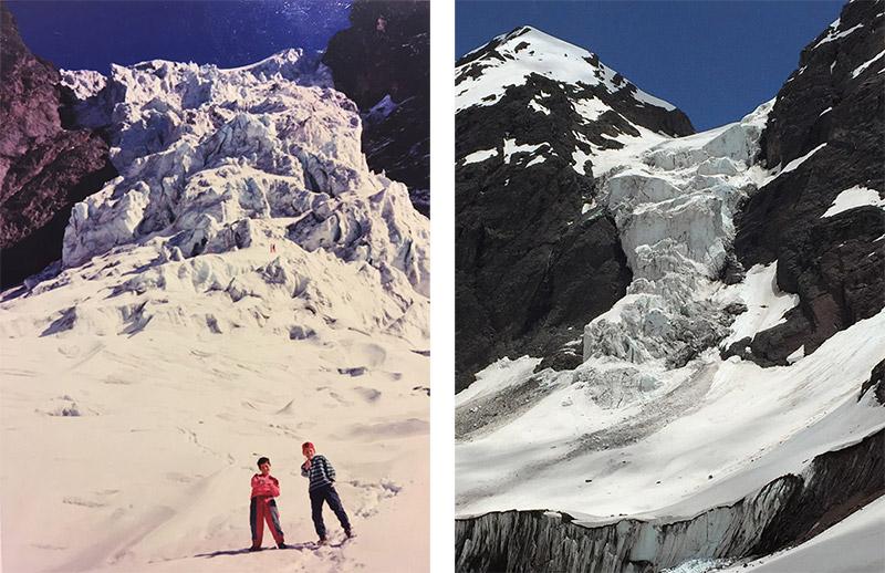 Glaciar El Morado 1996-2016