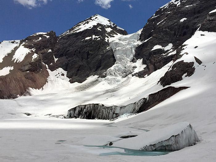 Glaciar El Morado, Chile.